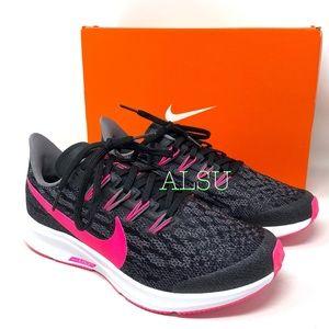 Nike Air Zoom Pegasus 36 GS Black Pink y/Women's